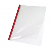 Capa Térmica Steel Crystal Vermelho A4 30mm 221 à 280 fls 05un