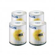 CD Virgem Gravável com logo CD-R 700mb/80min 52x Elgin 400un