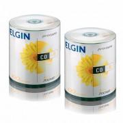 CD Virgem Printable CD-R 700mb/80min 52x Elgin 200un
