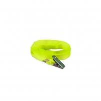 Cordão para Crachá com Jacaré Amarelo Fluorescente 12mm 10un