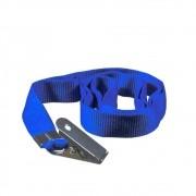 Cordão para Crachá com Jacaré Azul Royal 12mm Marpax 10un