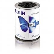 DVD Virgem Printable DVD-R 4.7GB/120min 16x Elgin 100un