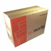Envelope A4 Amarelo saco SKO 032 229x324mm Scrity 500un