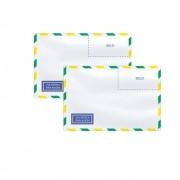 Envelope Carta Aéreo Branco COF015 114x162mm Scrity 1000un