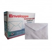 Envelope Convite liso Branco 90g 114x162mm Romitec 100un