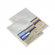 Envelope Plástico Fino 11 Furos universal 234x330mm BRW 10un