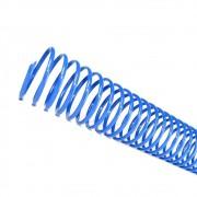 Espiral para Encadernação Azul 7 mm para 25 folhas 100un