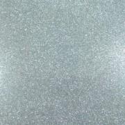 Folha de EVA Glitter Prata 40x48mm 2mm pacote com 10 un