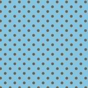 Folha de EVA Poá Azul/Marrom 40x48 1,5mm pacote com 10 un