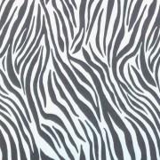 Folha de EVA Zebra Branco/Preto 40x48 2mm pacote com 10 un