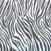 Folha de EVA Zebra Branco/Preto 40x48 1,5mm pacote com 10 un