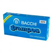 Grampo para Grampeador 23/15 120fls Galvanizado Bacchi 1000un