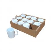 Kit de Caneca para Sublimação cerâmica Classe A 325ml 12un