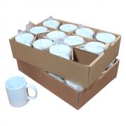 Kit de Caneca para Sublimação cerâmica Classe A 325ml 24un