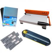 Kit Encadernação - Encadernadora A4-X + Refiladora + Insumos