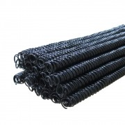 Kit Espiral para encadernação Preto 7, 9, 14, 17mm 1200un