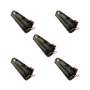 Kit HP 1606 1560 1536 278A 278 Compatível Evolut 2.1k 5 Uni
