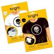 Kit Papel Transfer para Algodão Claros e escuro Bright 35Fls