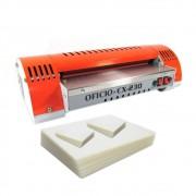Kit Plastificação - Plastificadora Marpax + 420 Polaseal