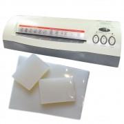 Kit Plastificação - Plastificadora Menno + 420 Polaseal 110V