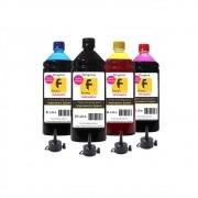 Kit Tinta Epson Compatível L355 L365 L375 L395 4 Litros