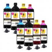 Kit Tinta Epson Compatível L355 L365 L375 L395 L396 8 Litros
