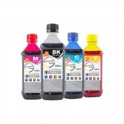 Kit Tinta Epson Compatível Marpax BK 500ml e Coloridas 100ml