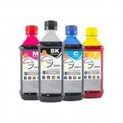 Kit Tinta Epson impressora L355 L365 L375 L395 CMYK 4x250ml
