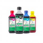 Kit Tinta Epson L355 Eco Marpax BK 500ml e Coloridas 100ml