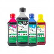 Kit Tinta Epson L355 Eco Marpax BK 500ml e Coloridas 250ml