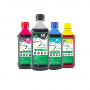 Kit Tinta Epson L365 Eco Marpax BK 500ml e Coloridas 100ml