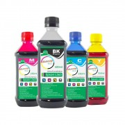 Kit Tinta Epson L365 Eco Marpax BK 500ml e Coloridas 250ml