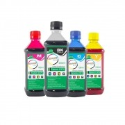 Kit Tinta Epson L375 Eco Marpax BK 250ml e Coloridas 100ml