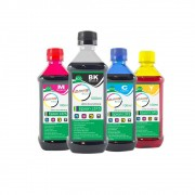 Kit Tinta Epson L375 Eco Marpax BK 500ml e Coloridas 100ml