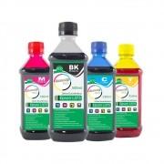 Kit Tinta Epson L375 Eco Marpax BK 500ml e Coloridas 250ml