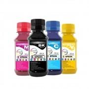 Kit Tinta Epson Pigmentada Compatível Marpax CMYK 4x250ml
