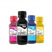 Kit Tinta Epson Pigmentada Marpax BK 250ml e Coloridas 100ml