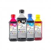 Kit Tinta HP Compatível Marpax BK 250ml e Coloridas 100ml