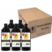 Kit Tinta para impressora Epson Compatível Formulabs Black 100 Litros