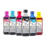 Kit Tinta para impressora Epson Corante Marpax CMYK 6x100ml