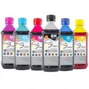 Kit Tinta para impressora Epson Corante Marpax CMYK 6x250ml