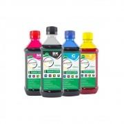 Kit Tinta para impressora Epson L375 Eco Marpax CMYK 4x100ml