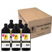 Kit Tinta para impressora HP Compatível Formulabs Black 100 Litros