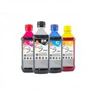 Kit Tinta para impressora HP Compatível Marpax CMYK 4x100ml