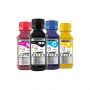 Kit Tinta Sublimática Epson Compatível Marpax CMYK 4x100ml