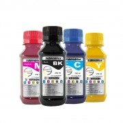 Kit Tinta Sublimática Epson Compatível Marpax CMYK 4x250ml