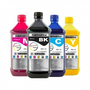 Kit Tinta Sublimática Epson Compatível Marpax CMYK 4x500ml
