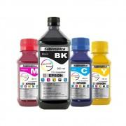 Kit Tinta Sublimática Epson Marpax BK 500ml Coloridas 100ml