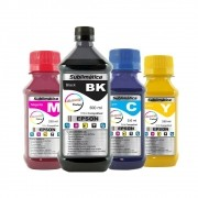 Kit Tinta Sublimática Epson Marpax BK 500ml Coloridas 250ml
