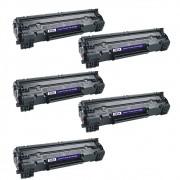Kit Toner Compatível HP M1132 P1005 P1102 Chinamate 2k 5un